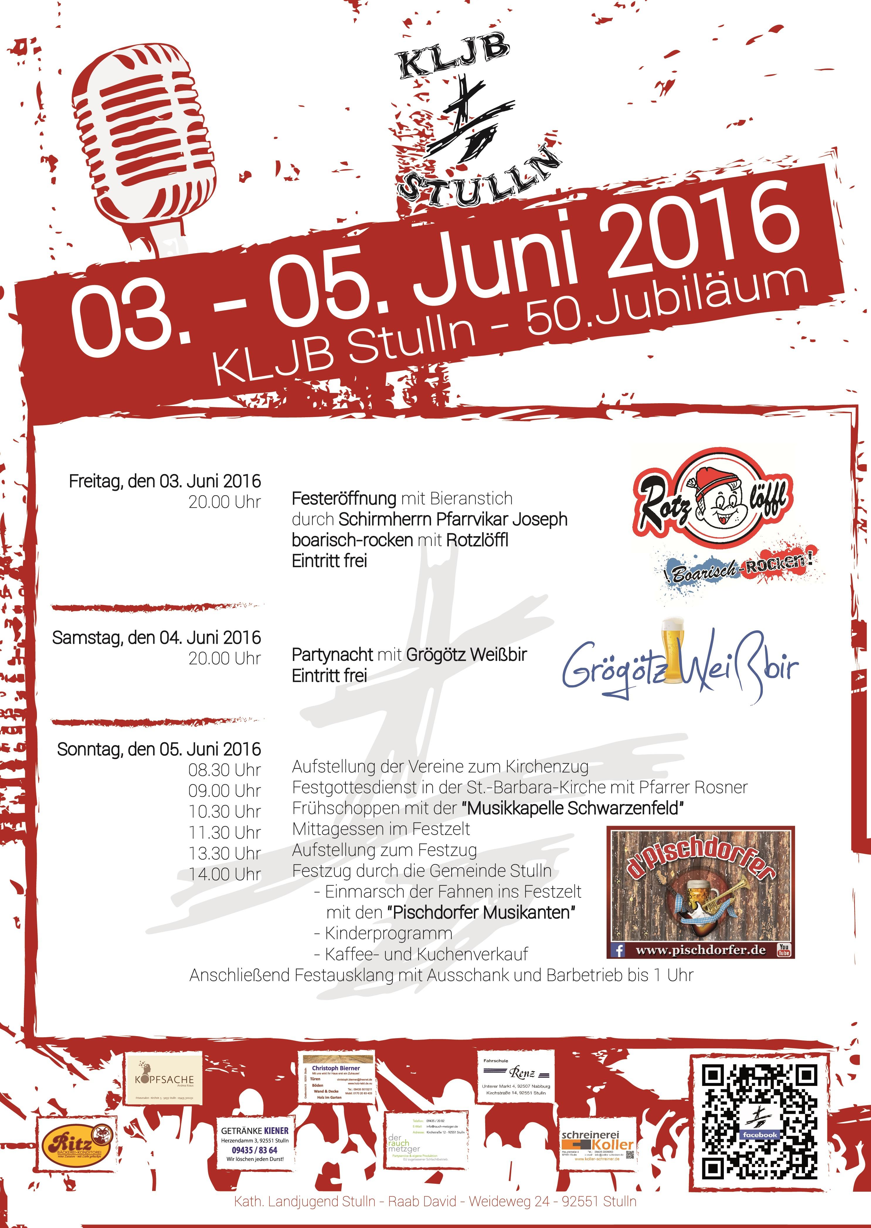 KLJB Stulln Festprogramm A4-01